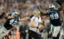 Saints supera a los Panthers en Carolina
