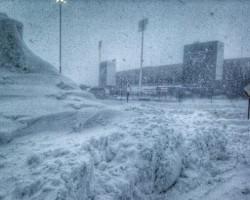 Ralph Wilson Stadium Nieve