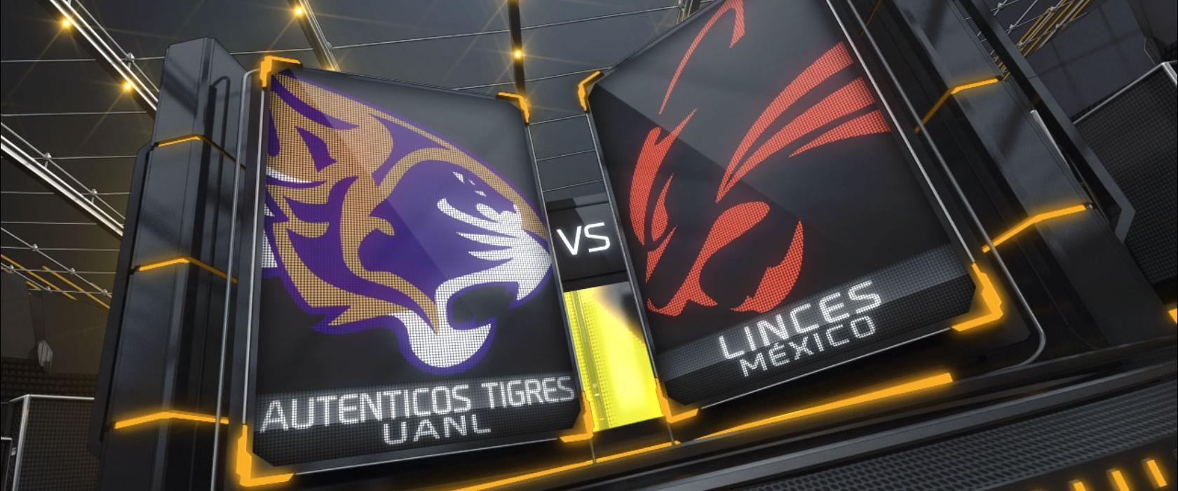 Autenticos Tigres UANL vs Linces UVM