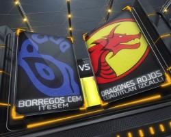 Borregos CEM vs Dragones Rojos