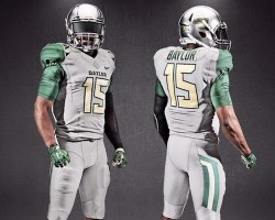 Baylor gray uniform