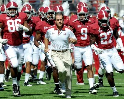Nick Saban Alabama
