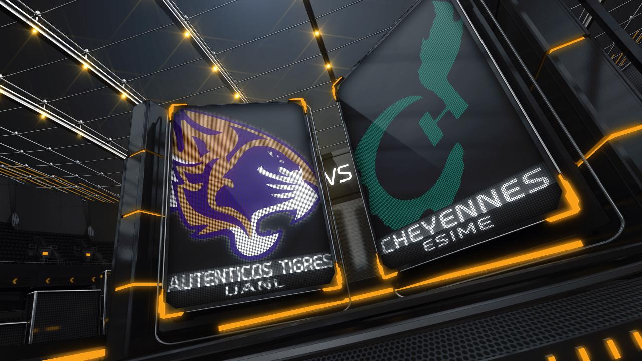 Auténticos Tigres vs Cheyennes