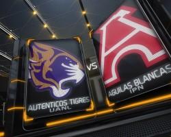 Autenticos Tigres vs Aguilas Blancas
