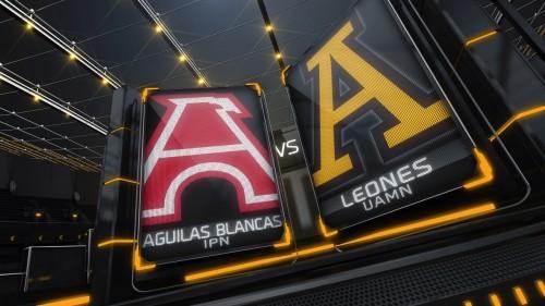 Aguilas Blancas vs Leones Anahuac