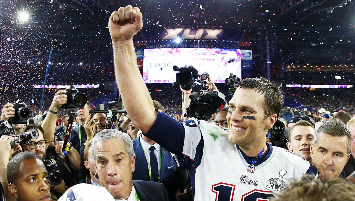 Resultado de imagen para tom brady Super Bowl XLIX