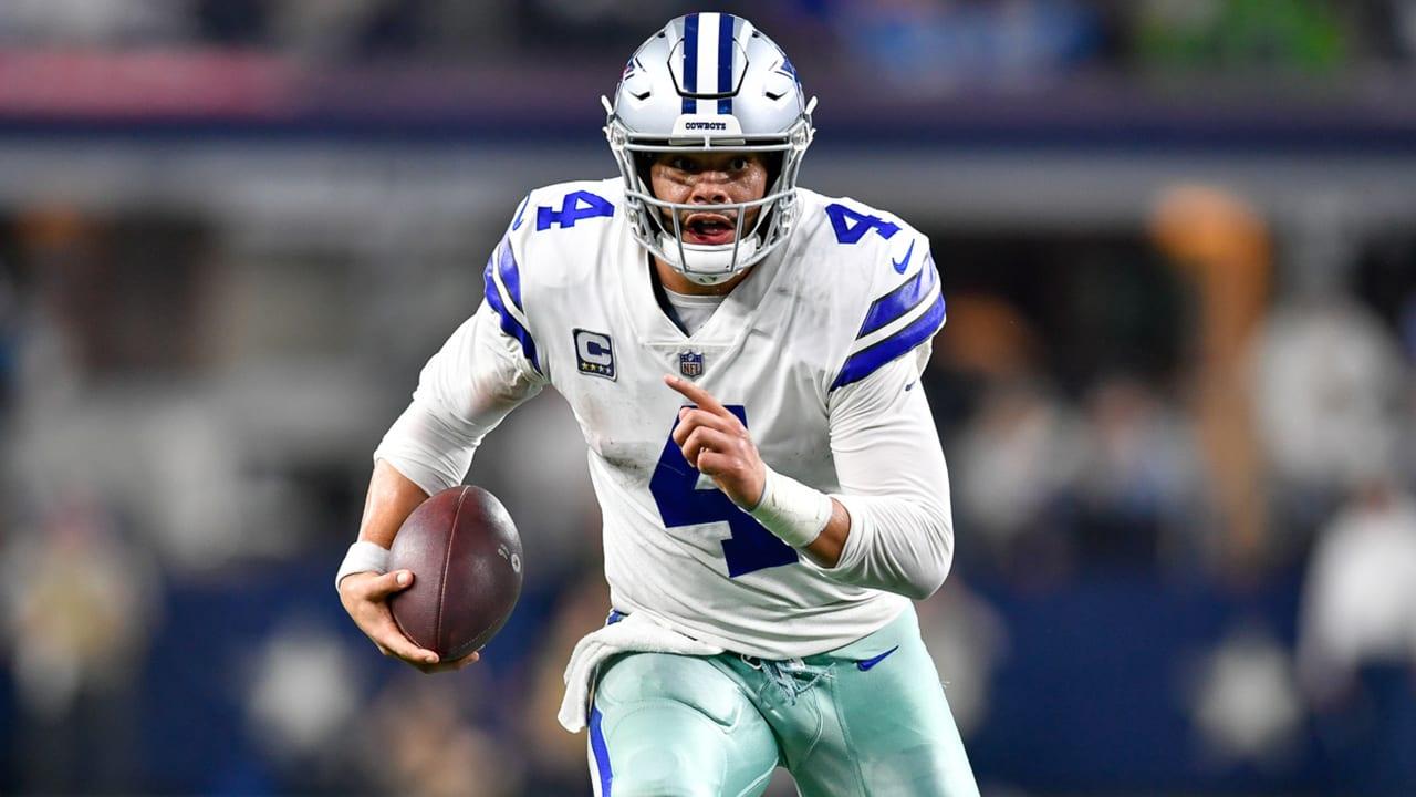 Dak Prescott, quarterback de Cowboys
