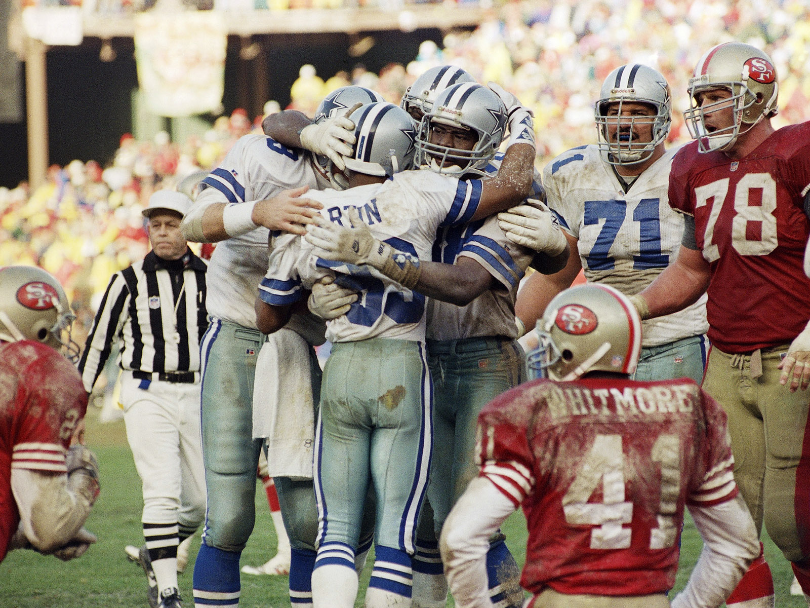 Cowboys vs 49ers 1992