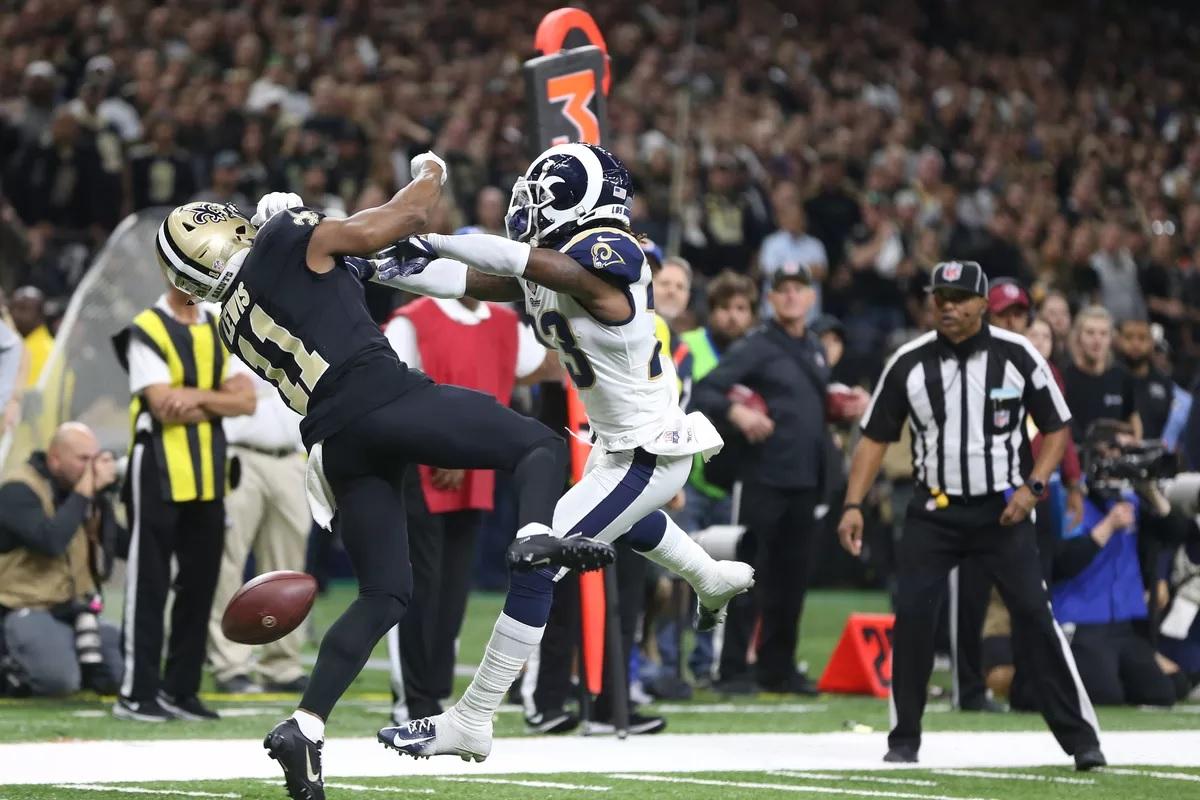 Saints vs Rams