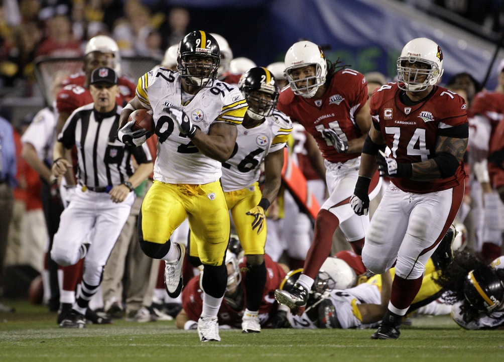 James Harrison, SB XLIII