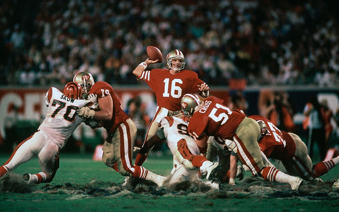 Joe Montana, Super Bowl XXIII