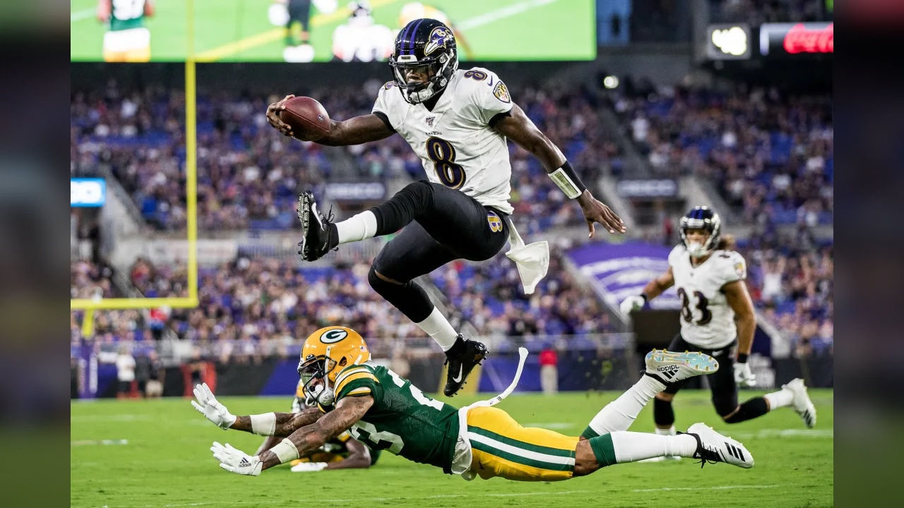 Lamar Jackson | Cortesía: Shawn Hubbard, Baltimore Ravens