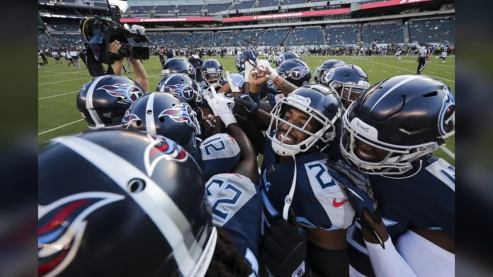 Tennessee Titans pregame