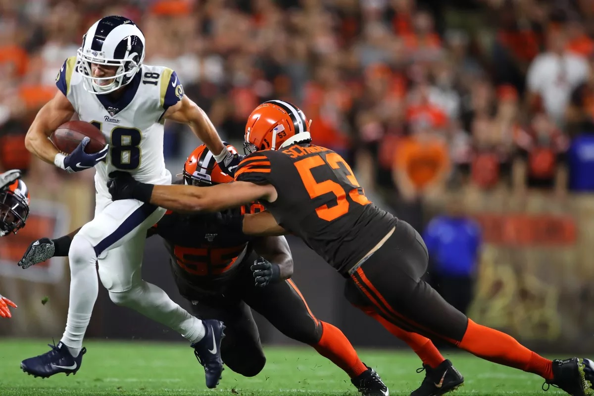 Cooper Kupp vs Browns