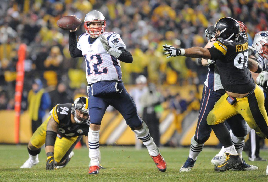Tom Brady, Steelers