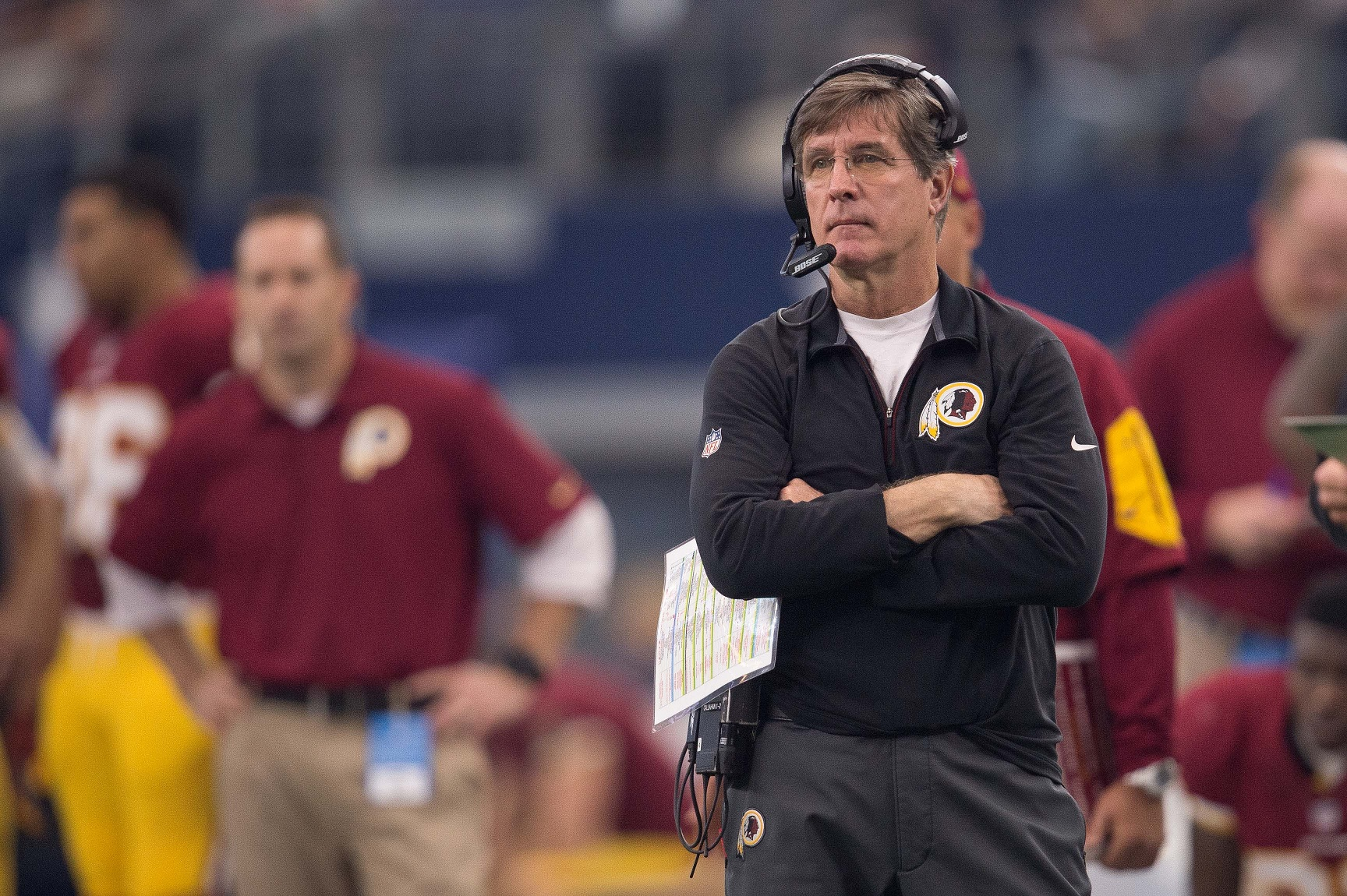 Bill Callahan, nombrado coach interino de Redskins