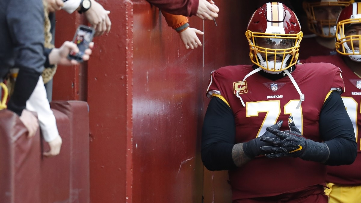 Médicos de Redskins ignoraron cáncer de Trent Williams