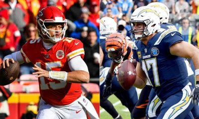Patrick Mahomes vs Philip Rivers 2019