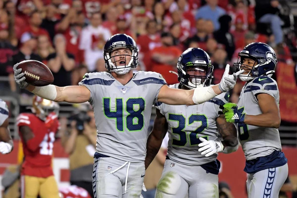 Seahawks vs 49ers 2019