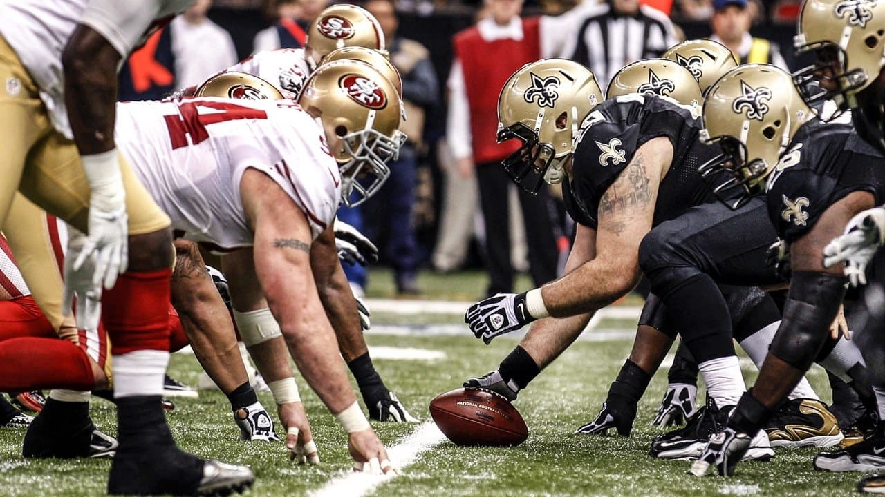 49ers vs Saints