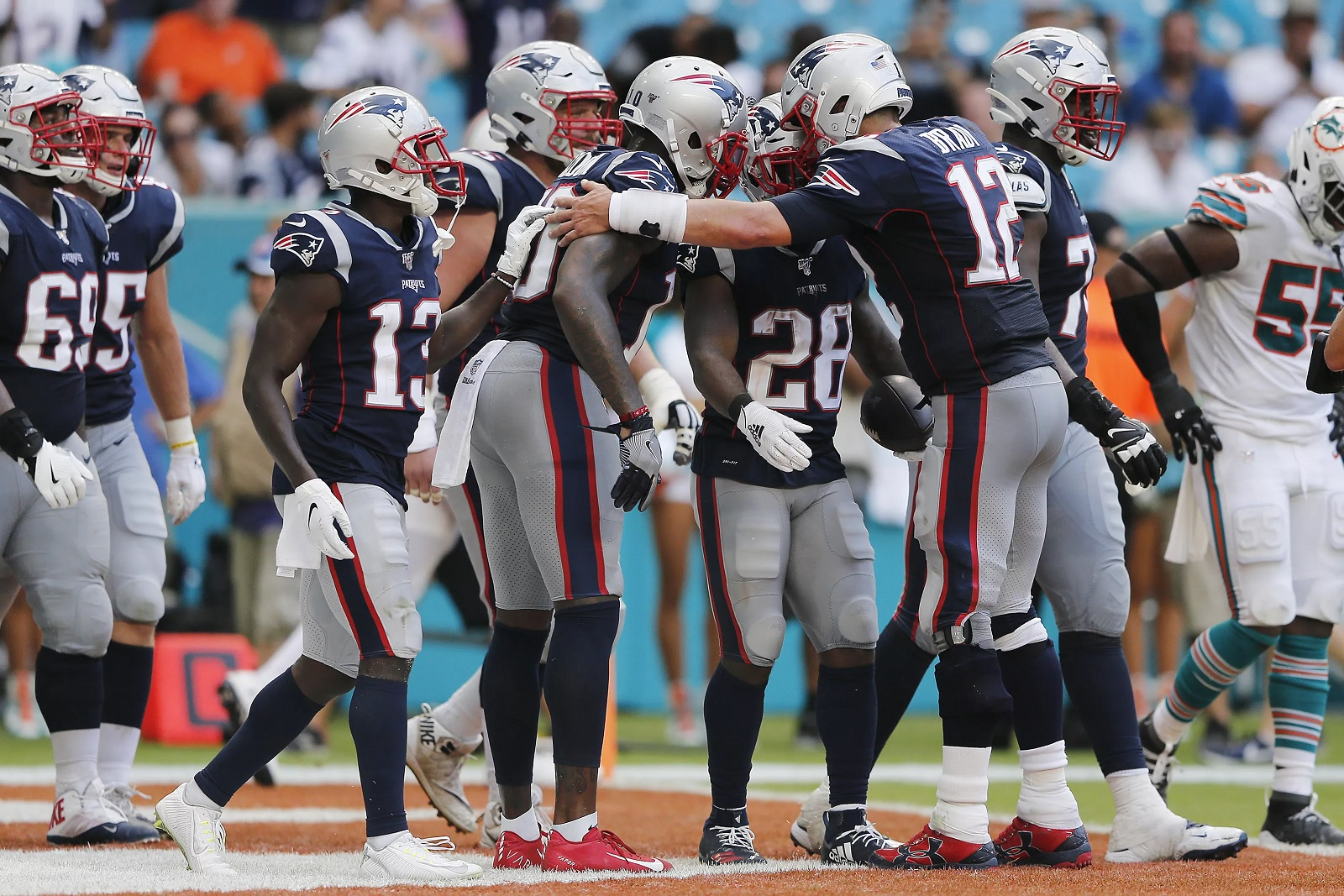 Patriots vs Dolphins 2019