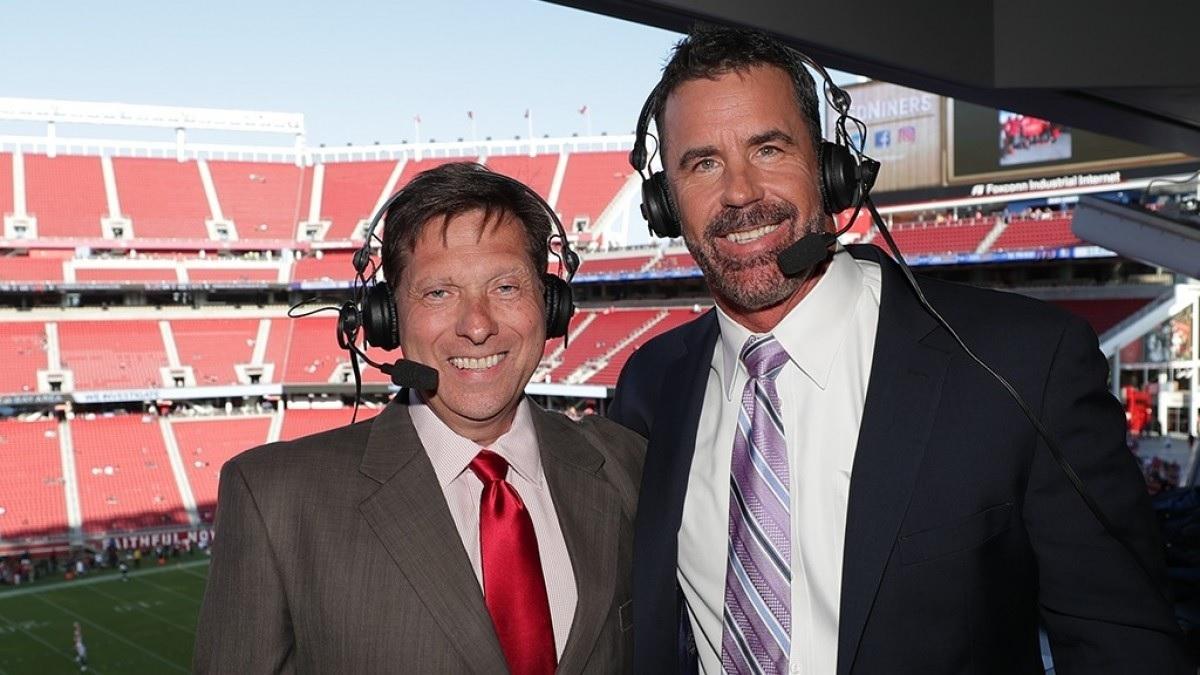 Tim Ryan. locutor de los 49ers
