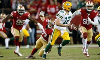 Aaron Rodgers, QB de Packers vs. 49ers 2019