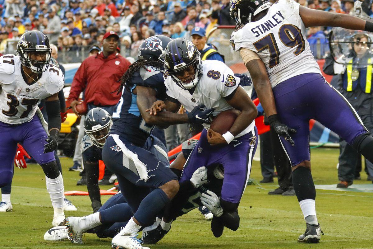 Baltimore Ravens, Lamar Jackson vs. Tennessee Titans