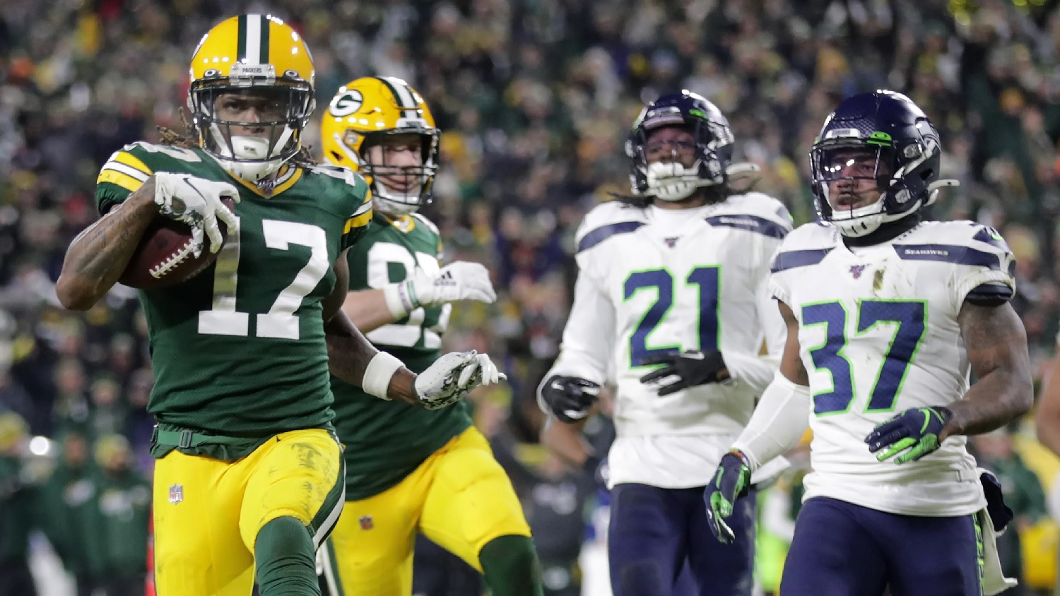 Davante Adams, Green Bay Packers vs. Seahawks, 2019