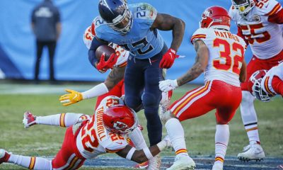 Derrick Henry, Tennessee Titans vs Kansas City Chiefs