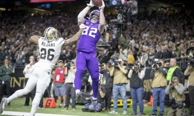 Kyle Rudolph vs Saints 2019