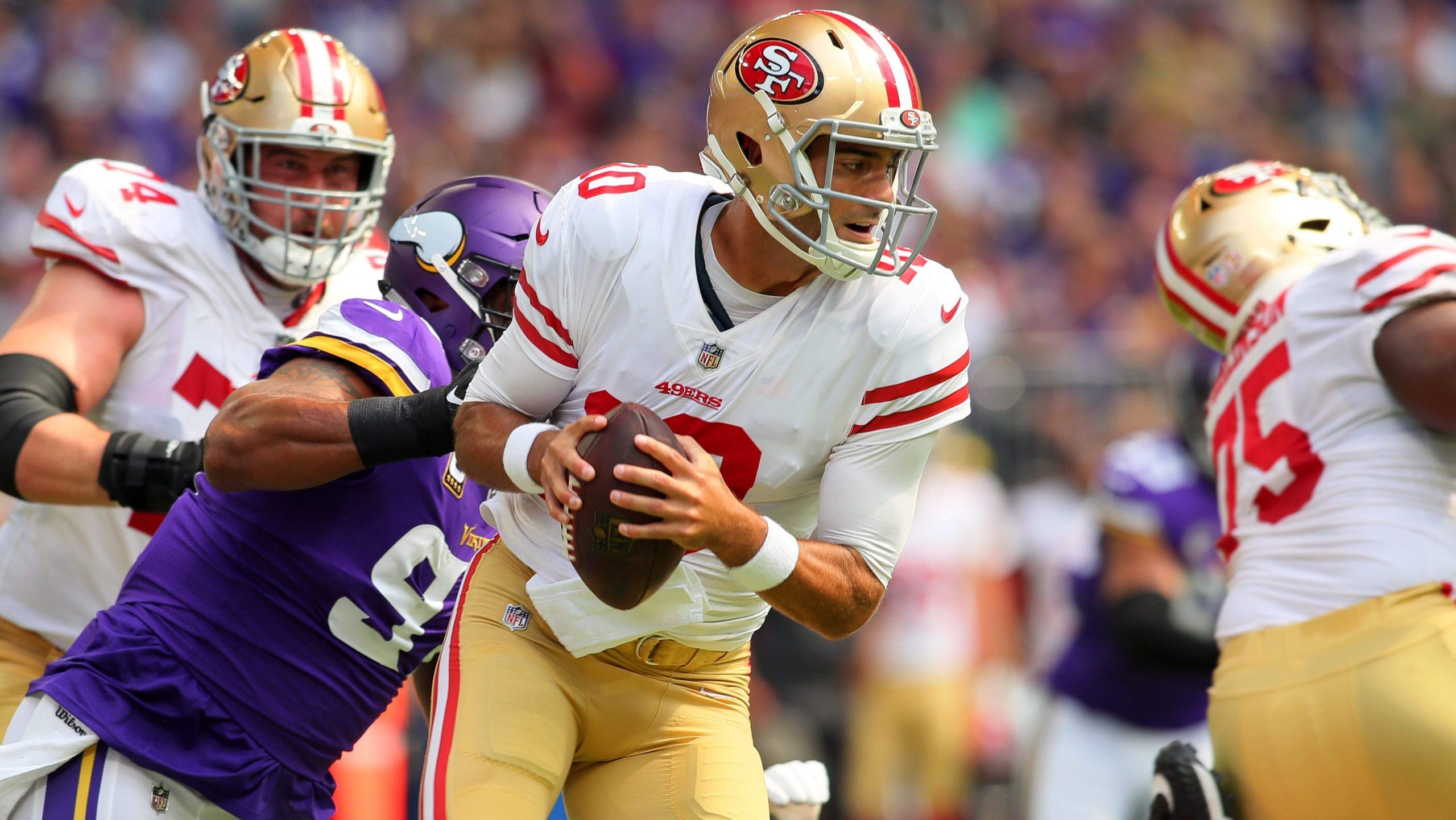 Minnesota Vikings vs San Francisco 49ers