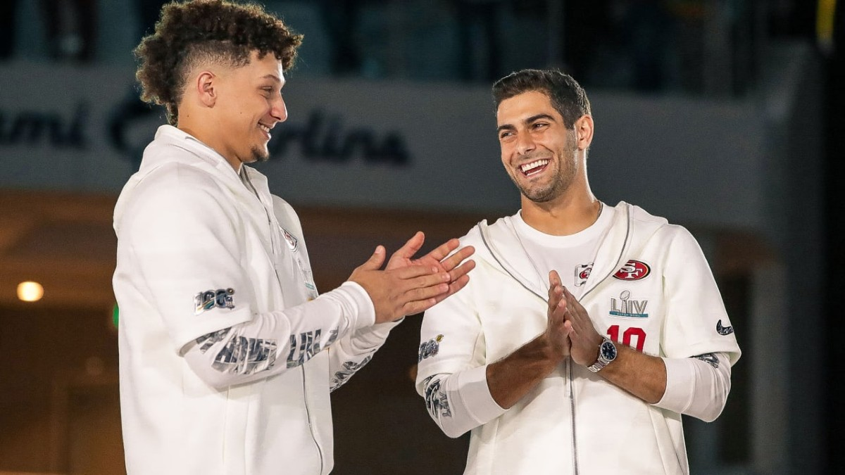 Patrick Mahomes, Jimmy Garoppolo, Opening Night