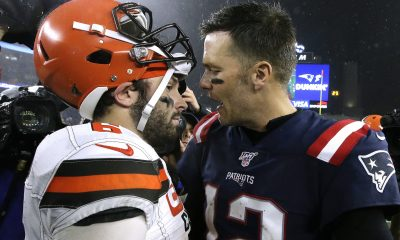 Tom Brady y Baker Mayfield