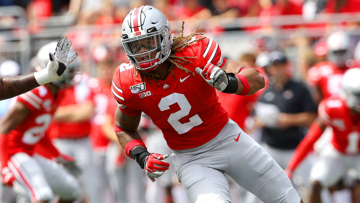 Chase Young ala defensiva Ohio State