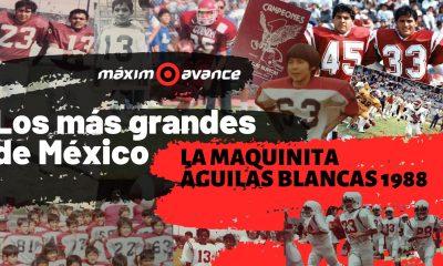 Los Mas Grandes - LA MAQUINITA Aguilas Blancas