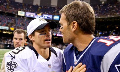 Drew Brees y Tom Brady