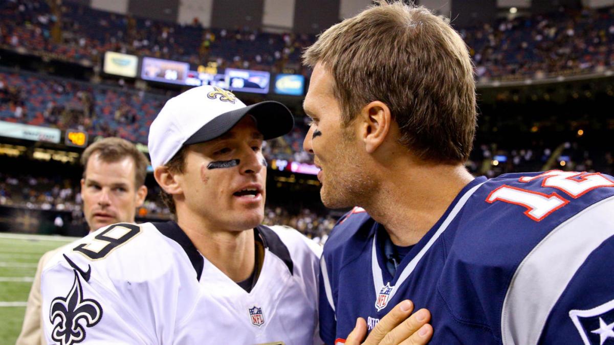 Drew Brees y Tom Brady