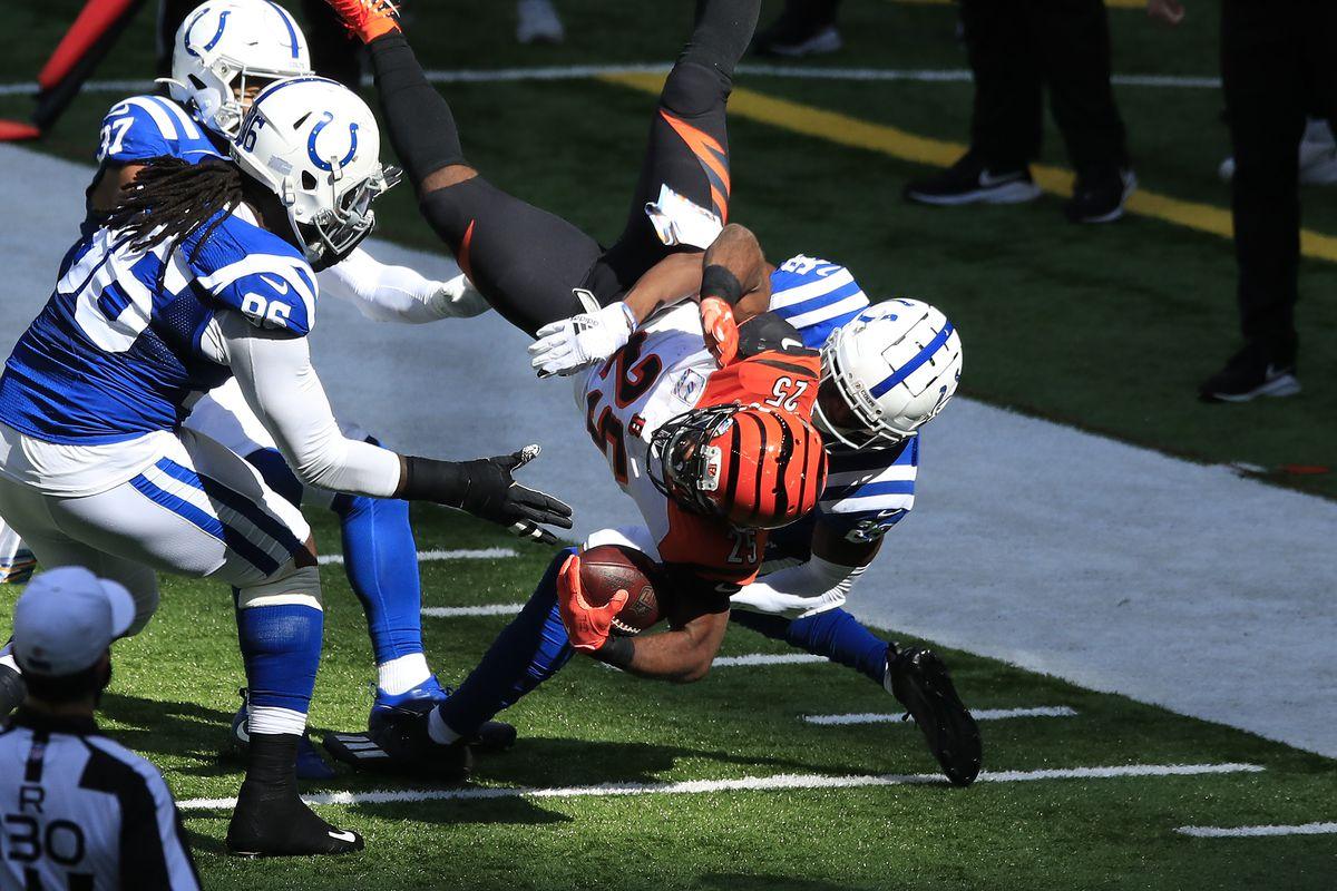 Colts vs Bengals