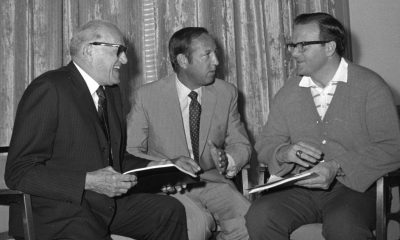 George Halas y Lamar Hunt dos pioneros del football