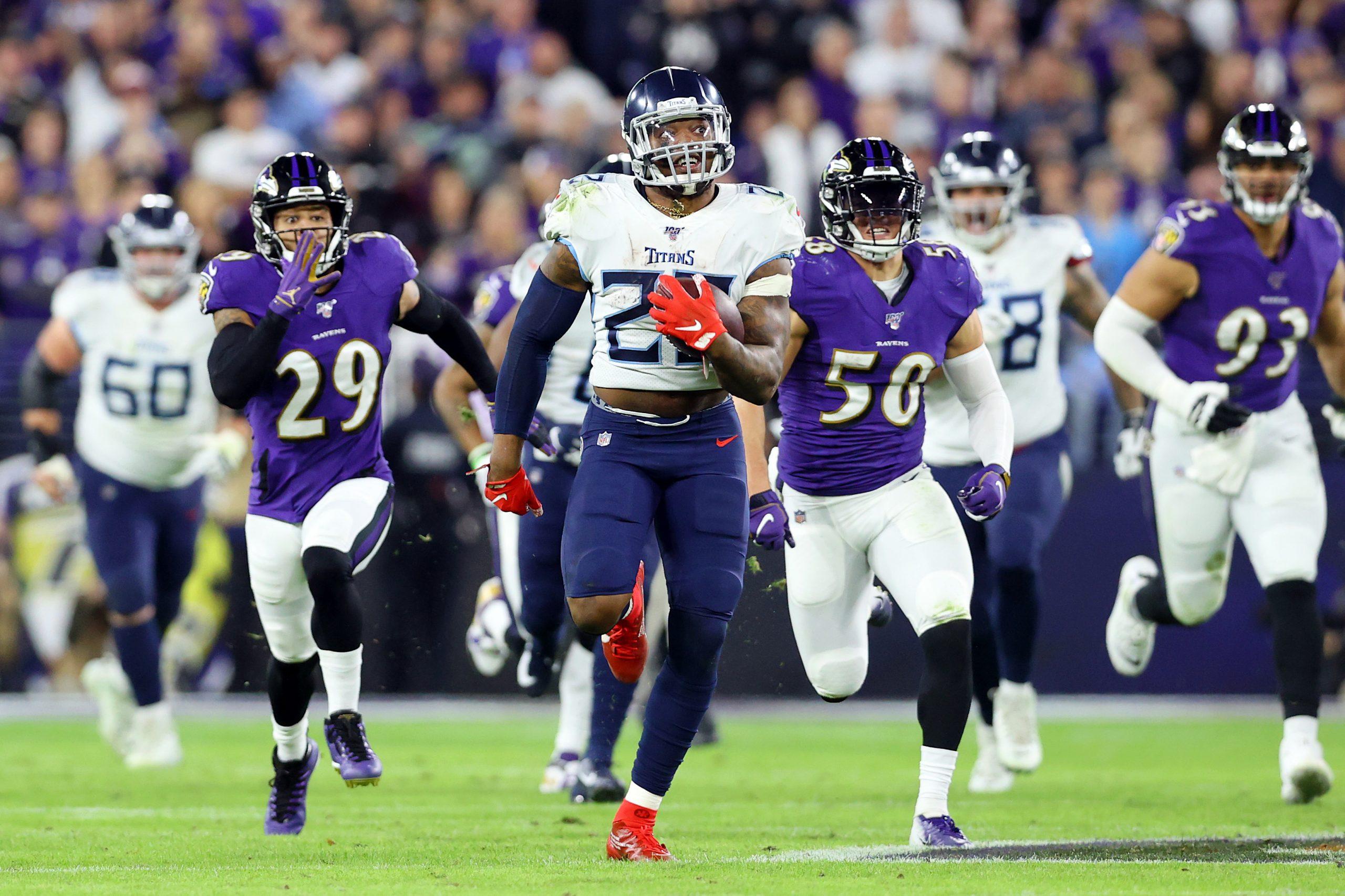 Divisional Round – Tennessee Titans v Baltimore Ravens