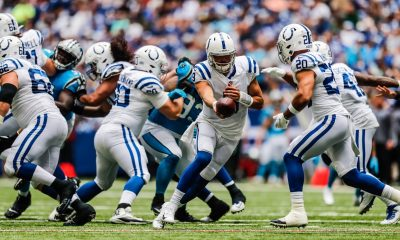 Lucen quarterbacks de Colts