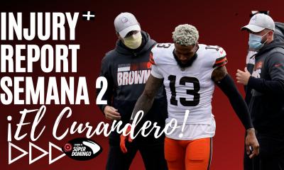 Injury report semana 2 NFL