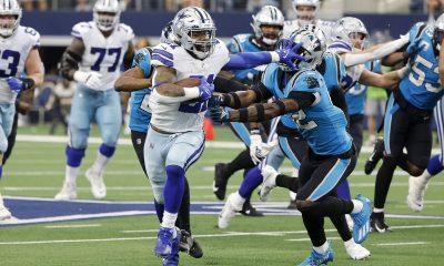 Dallas corre sobre Carolina