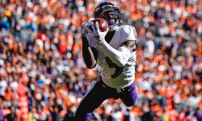 Ravens vuelan en Denver